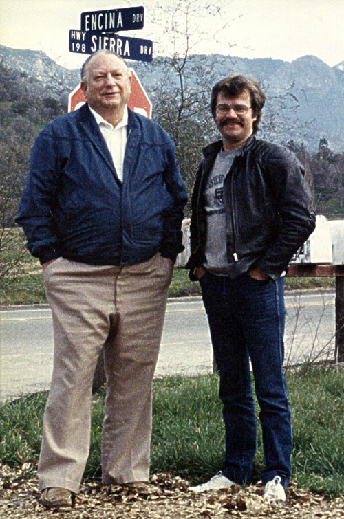 Jack Vance & Terry Dowling, 1984